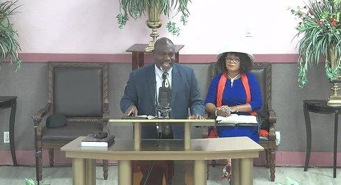 July First Sunday: Guest Speaker Pastor Mercy Horace & Bishop Bedell Horace