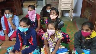 Class in progress in Telangana
