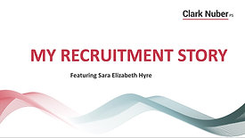 Sara Elizabeth's Recruitment Story