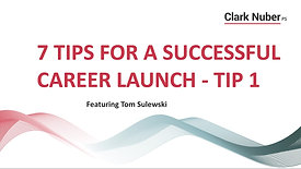 Career Launch - Tip 1