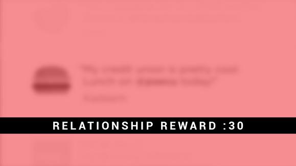 Relationship Reward :30 animation