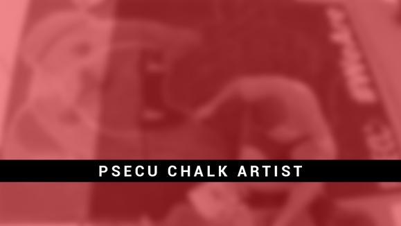 PSU Chalk Artist