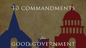 The 10 Commandments for Good Government