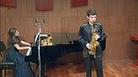 Matvey Sherling performs E.Bozza's 'Aria for alt-sax and piano '