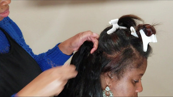 Braidless Invisible Sewn Method
