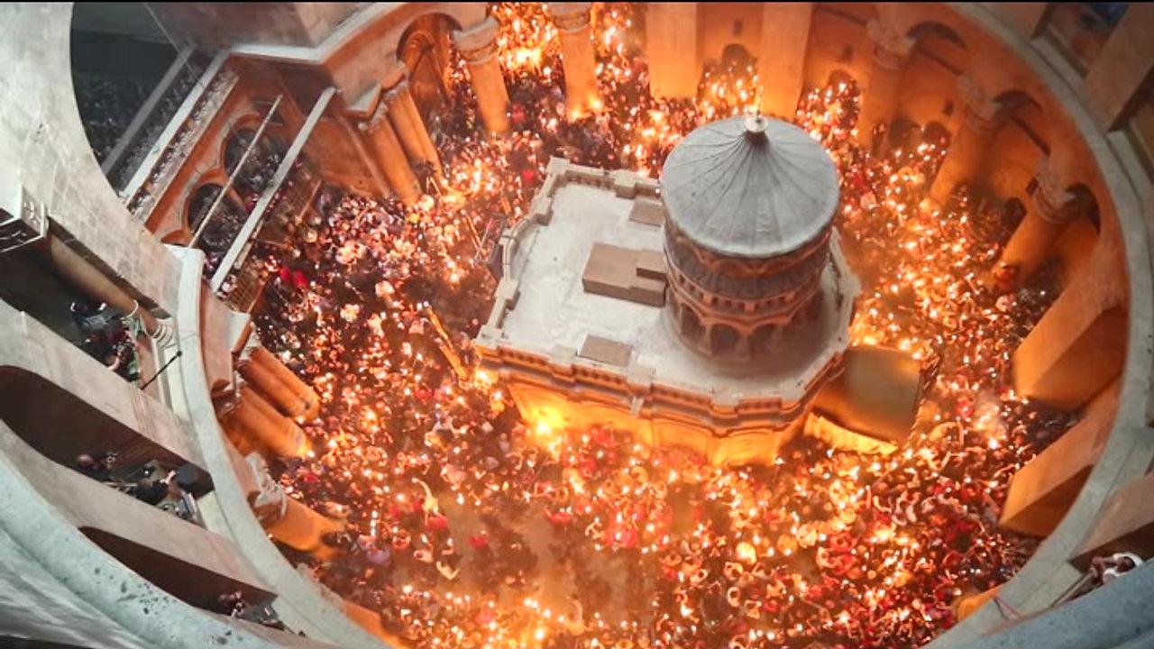 האש הקדושה - באדיבות אורי אורחוף