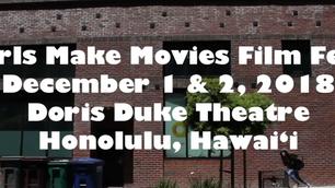 Girls Make Movies Film Fest, Dec 1-2, 2018