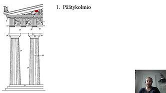 Kreikkalaisen antiikin arkkitehtuurin pylväsjärjestelmä