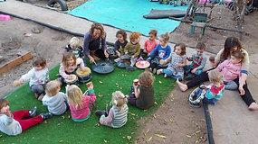 Kindergarden kids play