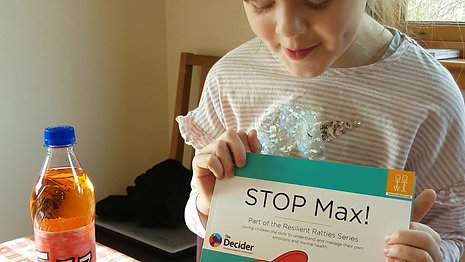 Ellie Telling us a bit more about STOP Max! and The FIZZ