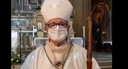 Mensagem de Dom Jacinto, no final da Missa dos Santos Óleos, motivando a vivência da espiritualidade do Tríduo Pascal.