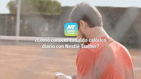 NestleTrainer - Consumo calorico