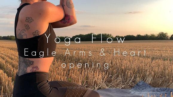 Yoga Flow Eagle Arms