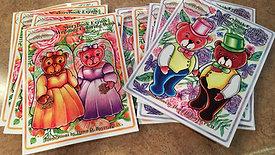 Custom Wedding Coloring Book