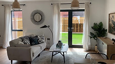 The Living Room - The Chocolate Factory Show Home