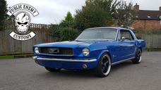 1966 Stroker Mustang on the streets