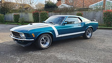 1970 Ford Mustang 351c 4 speed manual
