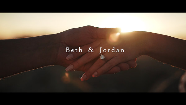 Beth & Jordan's Engagement Film | Lancing Beach