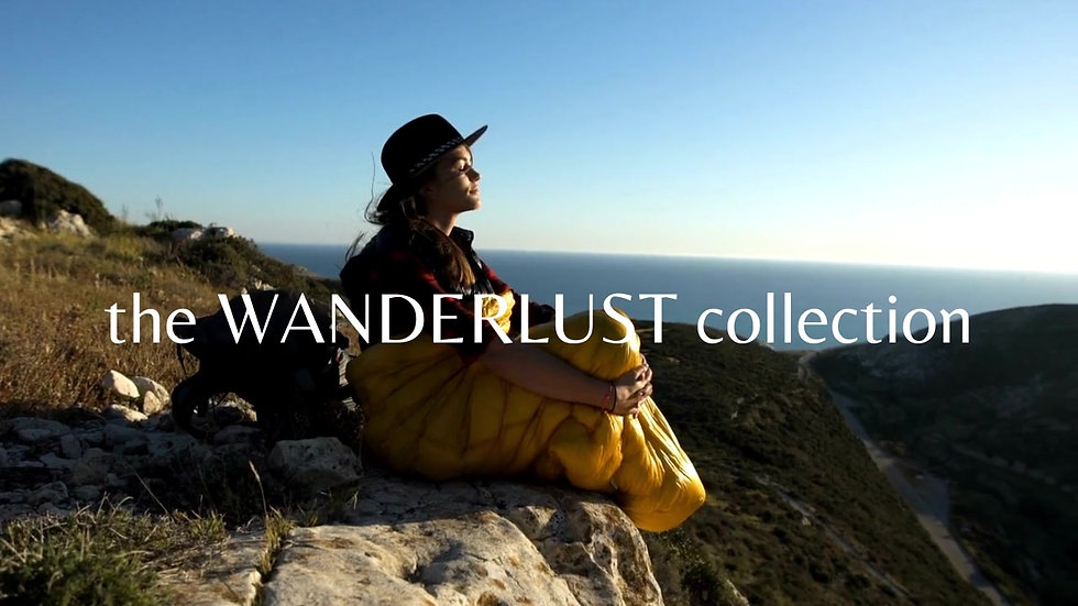 the WANDERLUST collection