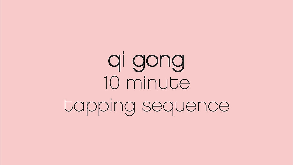 10 Minute Tapping Sequence