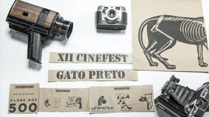 XII Cinefest Gato Preto - Vinheta de abertura