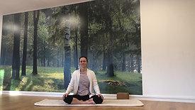 Rolig yoga - 60 min. (noe redusert lyd)