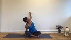 Rolig yoga - 15 min. (noe redusert lyd)