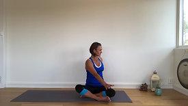Dynamisk yoga Moderat 1 - 20 min.