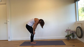Dynamisk yoga Moderat 1 - 10 min.