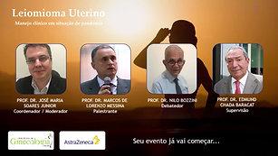 Webinar Leiomioma Uterino - 29-07-2020