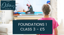 Foundations 1 – Class 3