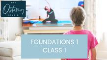 Foundations 1 – Class 1