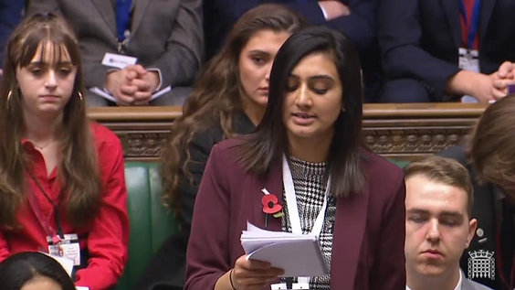 Mariam Sohail's Speech on Tackling Homelessness (2018)