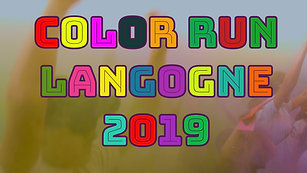 Color run Langogne 2019