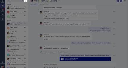 Bienvenido a Microsoft Teams