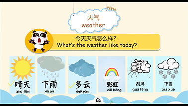 Mandarin Scholars - About the Weather