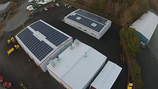 Clean Harbors Rooftop Solar Array