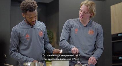 DSM Keukens - R.S.C. Anderlecht kookwedstrijd