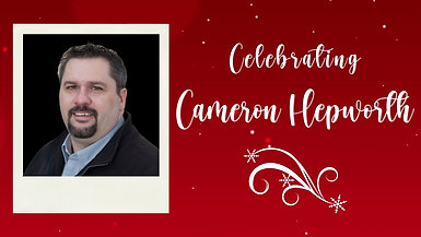 Celebrating Cameron Hepworth