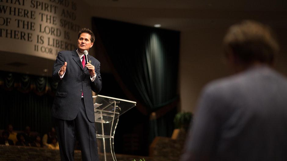 Pastor John Blanchard