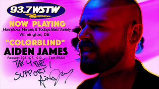 93.7 WSTW Blasts Colorblind to Tri-State Aiden James