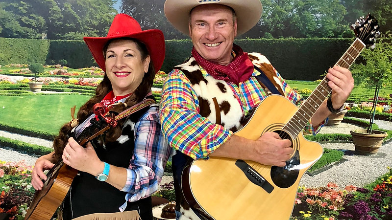 "Tex & Daisy- ""Home on the Range"""
