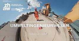 """ZHAW (2019) - BSc-Absolventenporträt """"Naturmanagment"""""""