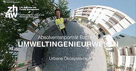 """ZHAW (2019) - BSc-Absolventenporträt """"Urbane Ökologie"""""""