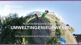 """ZHAW (2019) - BSc-Absolventenporträt """"Umweltsysteme und Nachhaltige Entwicklung"""""""