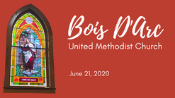 Message today - June 21, 2020