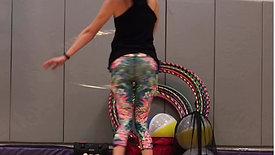 Hoop Dance Fitness Class 1 Review