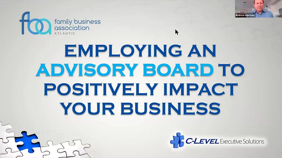 April 20, 2021- Advisory Boards Positively Impact your Business - trimmed