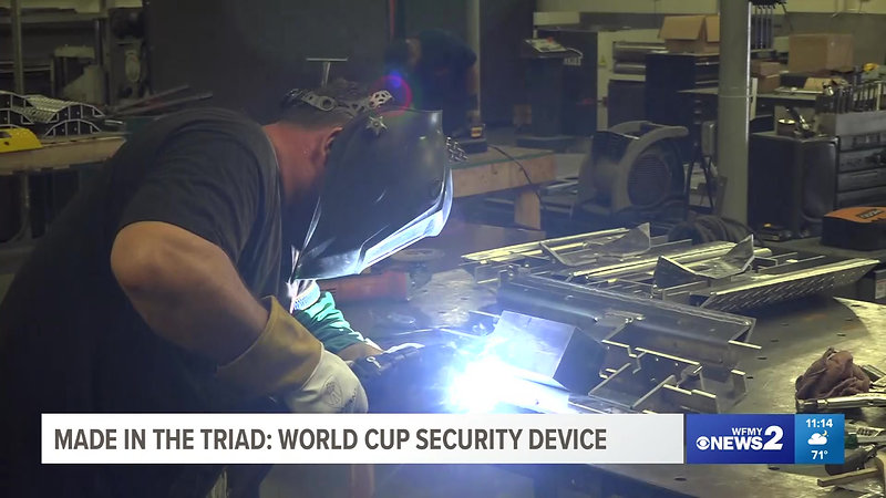 Triad World Cup Security Device