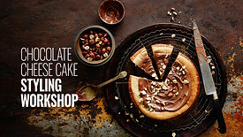 STYLING CHOCOLATE CHEESE CAKE WORKSHOP
